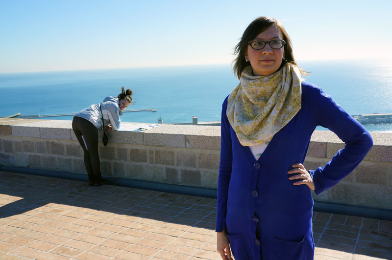 Эпический лук. Увидела Средиземное море.